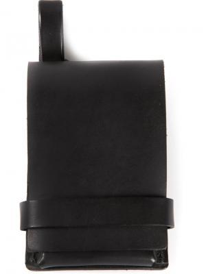 Бумажник с откидным клапаном Fleet Ilya. Цвет: чёрный