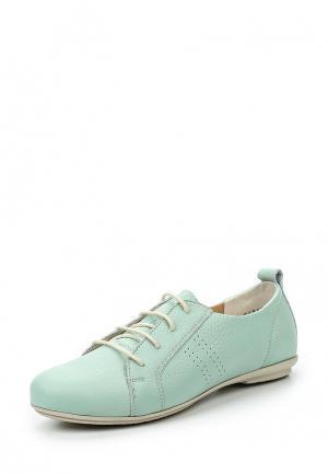 Ботинки Ralf Ringer. Цвет: мятный