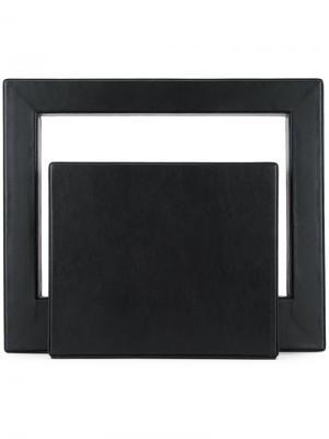 Клатч Bauhaus Lamat. Цвет: чёрный