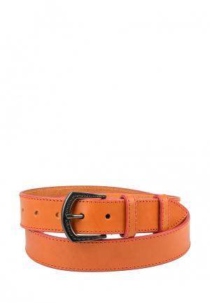Ремень VIP Collection. Цвет: оранжевый