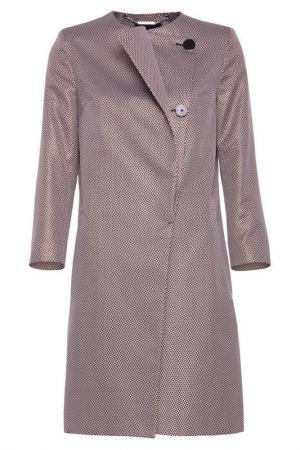 Пальто Simple. Цвет: бежевый