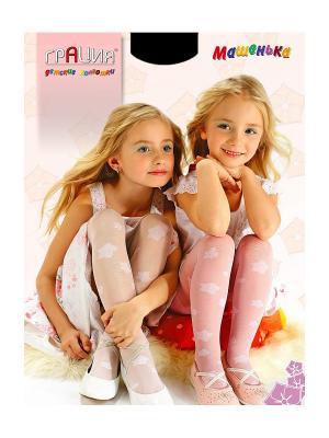 Колготки детские Машенька Грация. Цвет: черный