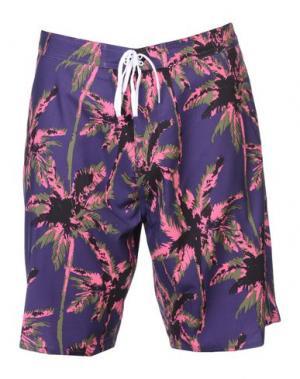 Пляжные брюки и шорты STUSSY. Цвет: фиолетовый