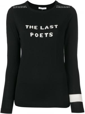 Джемпер  Last Poets Bella Freud. Цвет: чёрный