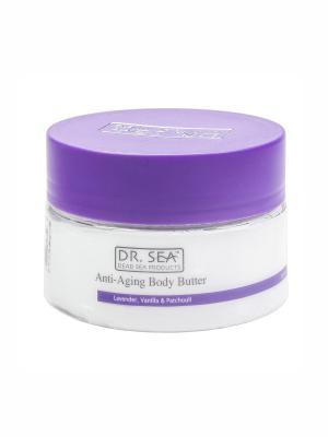 Масло для тела, предотвращающее старение, с маслами лаванды, ванили и пачули Dr. Sea. Цвет: белый