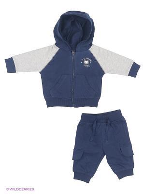 Комплект одежды BABALUNO. Цвет: синий