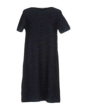 Короткое платье NATAN. Цвет: темно-синий