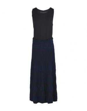 Платье длиной 3/4 COLLECTION PRIVĒE?. Цвет: черный