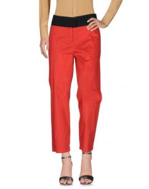 Повседневные брюки ALYSI. Цвет: красный