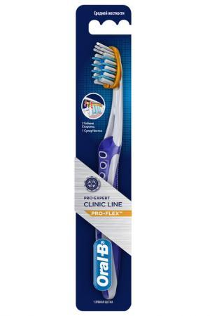 Зубная щетка средняя ORAL B. Цвет: none
