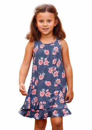 Платье Arizona. Цвет: цветной