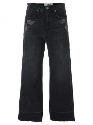 Укороченные джинсы Sandrine Rose. Цвет: чёрный