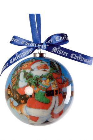 Набор шаров Mister Christmas. Цвет: зеленый