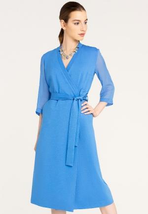 Платье Stimage. Цвет: голубой
