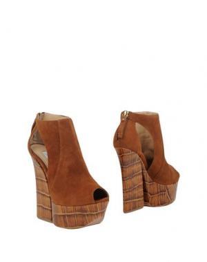 Ботинки GIANMARCO LORENZI. Цвет: коричневый