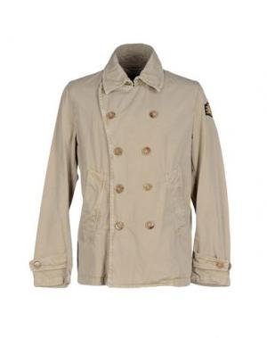 Куртка HISTORIC RESEARCH. Цвет: бежевый