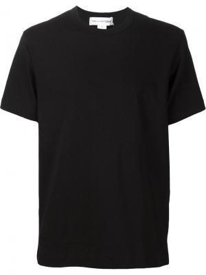 Классическая футболка Comme Des Garçons Shirt. Цвет: чёрный