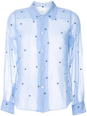 Рубашка с цветочным узором Jupe By Jackie. Цвет: синий