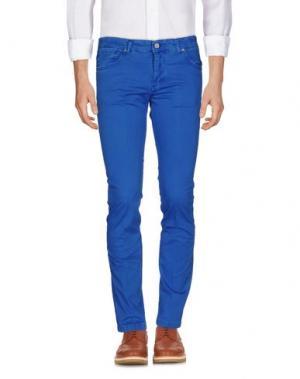 Повседневные брюки MICHAEL COAL. Цвет: лазурный