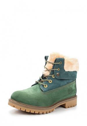 Ботинки Darkwood. Цвет: зеленый