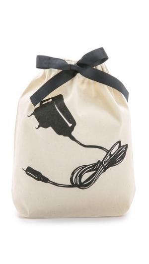 Маленькая сумка-органайзер с изображением зарядного устройства Bag-all