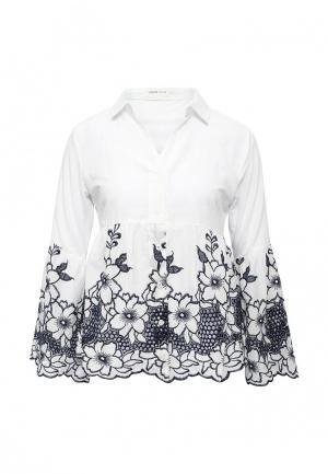 Блуза Urban Bliss. Цвет: белый