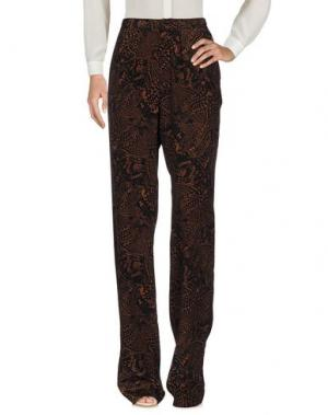 Повседневные брюки ISSA. Цвет: черный