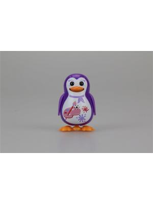 Пингвин с кольцом, фиолетовый, художник Silverlit. Цвет: фиолетовый