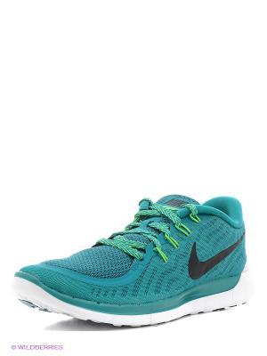 Кроссовки Nike Free 5.0. Цвет: морская волна