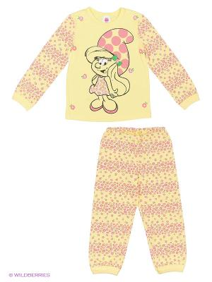 Пижама Свiтанак. Цвет: желтый, розовый
