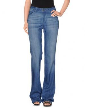 Джинсовые брюки SIWY. Цвет: синий