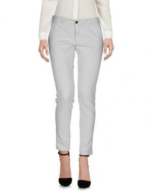 Повседневные брюки INX #THINK COLORED. Цвет: светло-серый