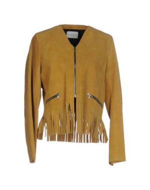 Куртка SANDRO. Цвет: охра