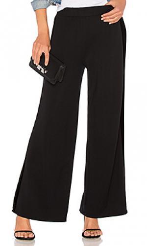 Широкие брюки emily Velvet by Graham & Spencer. Цвет: черный