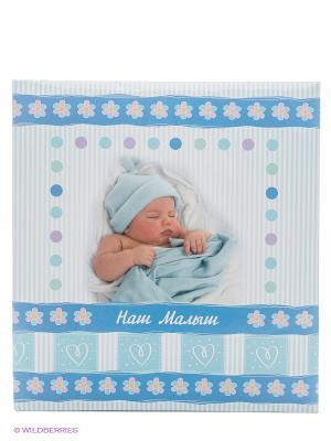 Фотоальбом Our baby VELD-CO. Цвет: голубой