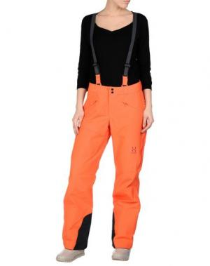 Лыжные брюки HAGLÖFS. Цвет: оранжевый