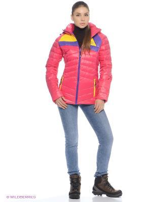 Куртка BURRAN. Цвет: фуксия