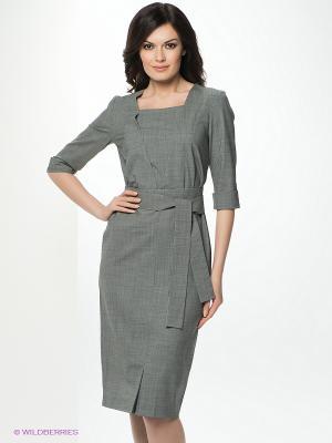 Платье Katerina Bleska&Tamara Savin. Цвет: серый, белый