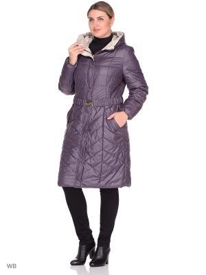 Пальто CATTAIL WILLOW. Цвет: темно-фиолетовый