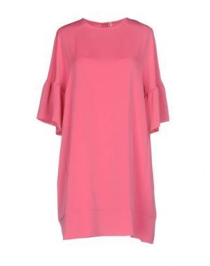 Короткое платье MAISON LAVINIATURRA. Цвет: розовый