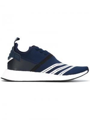 Кроссовки Adidas by White Mountaineering. Цвет: синий
