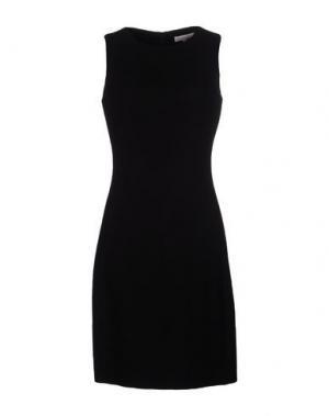 Платье до колена GOSSIP. Цвет: черный