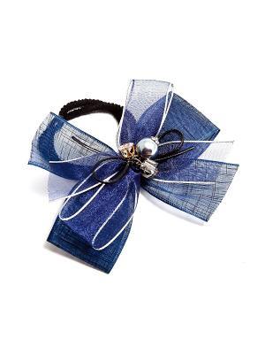 Заколка Kameo-bis. Цвет: синий, серебристый, черный