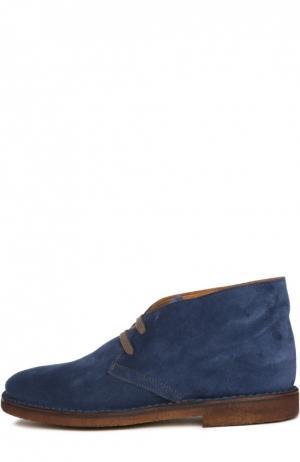 Ботинки Uit. Цвет: синий