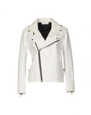 Куртка WANDA NYLON. Цвет: белый