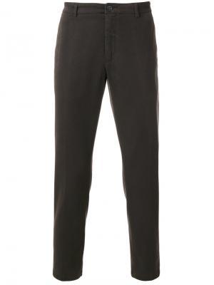Классические брюки-чинос Department 5. Цвет: коричневый