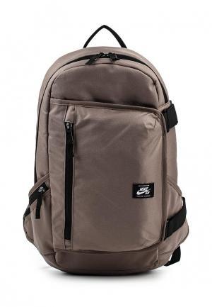 Рюкзак Nike. Цвет: коричневый