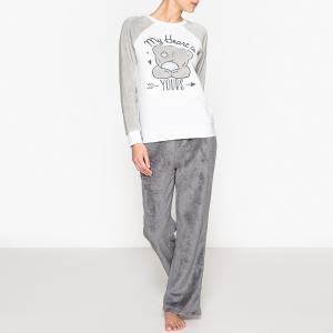 Пижама Me To You. Цвет: серый