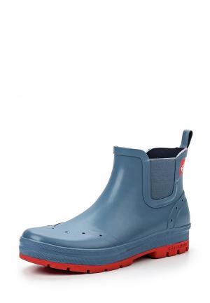 Резиновые ботинки Helly Hansen. Цвет: синий