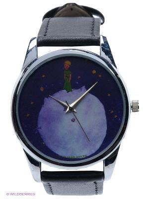 Часы Принц и звездное небо Mitya Veselkov. Цвет: черный, синий, серебристый